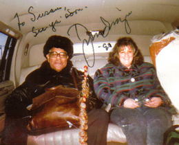 photo of Susan and Dizzy Gillespie